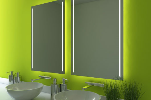 modern bathroom mirror design Brisbane